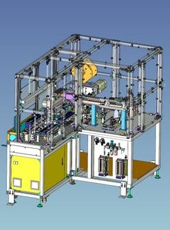 3D事例 電線皮むきカシメ装置_1