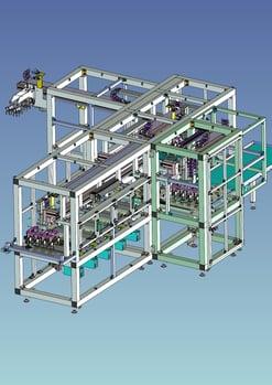 3D事例 モーターコア成型予備加熱装置_1