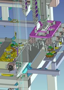 3D事例 モーターコア成型予備加熱装置_6
