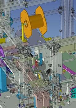 3D事例 電線皮むきカシメ装置_4